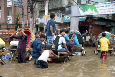Flash floods claim lives of 18 people in Bangladesh