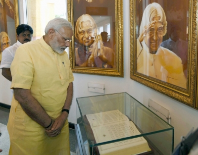 PM Modi to inaugurate APJ Abdul Kalam's memorial in Rameswaram today