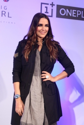 Neha Dhupia urges support for education of girls