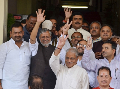Nitish Kumar sworn in as the Chief Minister of Bihar