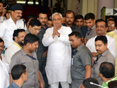 Secularism cannot be used as cover-up for corruption: Nitish
