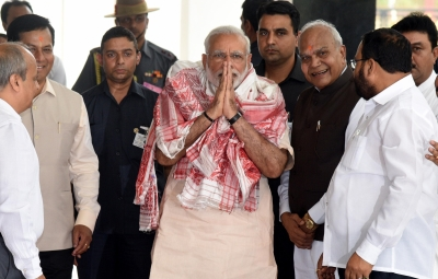 Modi in Assam to review flood situation