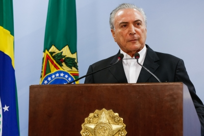 Temer launches programme to keep kids away from violence
