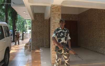 IT raids Eagleton resort, Karnataka Minister's residence