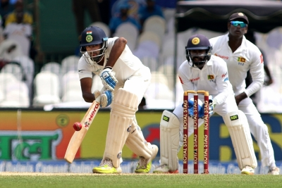 India reach 442/5 at lunch vs Sri Lanka on day 2 of second Test
