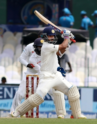 Second Test: India continue to pile on the runs (Lead Tea)