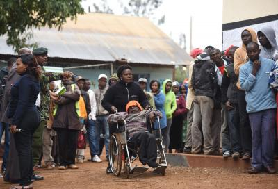 Kenya's election:Riots break out in opposition stronghold over contested result