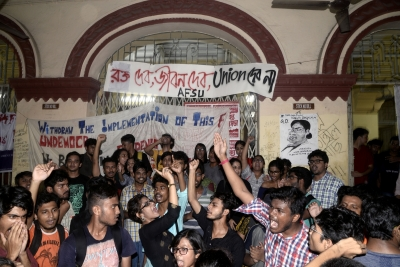 Jadavpur University students end protest after 36 hours
