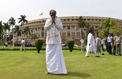 Opposition must have its say, government its way, says  all-party man  Naidu (Roundup)