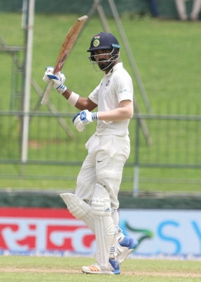 India rush to 134/0 at lunch in third Test vs Sri Lanka