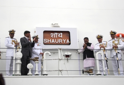 Indian Coast Guard ship  Shaurya  commissioned in Goa