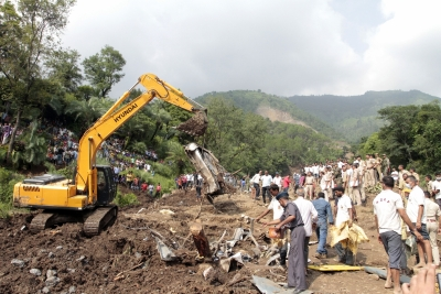 24 dead, over 18 missing in Himachal mudslide (Night Lead)