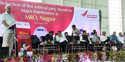 AI gets first external aircraft for MRO service