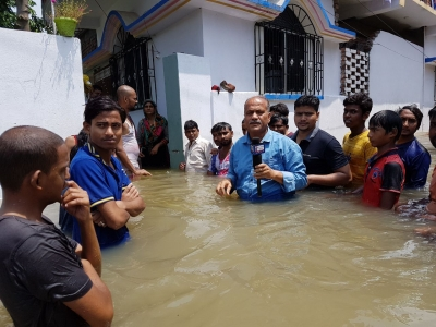 Nearly 2 million affected by floods in Bihar (Lead)