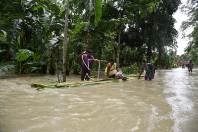 Bihar Floods: Woman, two children washed away as bridge collapses