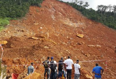 Shock and grief after mudslide in Sierra Leone kills hundreds