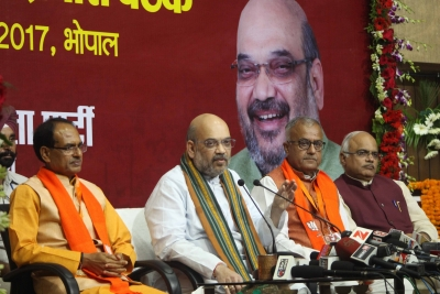 Amit Shah pulls up BJP s MP unit for lack of grassroots organisation