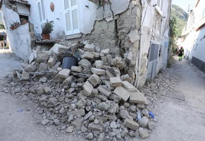 Two killed in Italy quake, three children rescued from rubble (Second Lead)