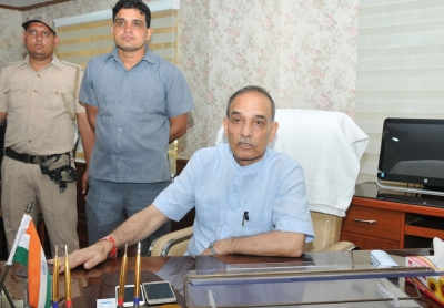 Satya Pal Singh takes charge as HRD Minister of State