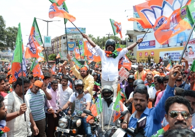 BJP workers detained by Police for taking out 'Mangaluru Chalo' bike rally