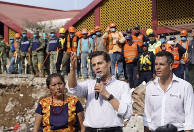 Mexico Continues Recovery in Areas Affected by Quake