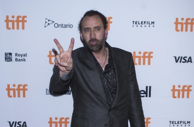 Nicolas Cage goes by  super 8 feeling