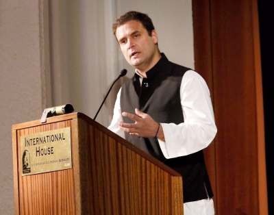Divisive politics ruining India s reputation abroad: Rahul (Lead)