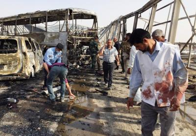 'Iranian pilgrims' among 50 dead in Islamic State-claimed Iraq blast