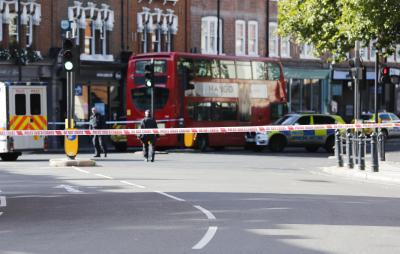 22 injured as London Tube train hit by terror attack (Fourth Lead)