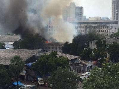 Major blaze engulfs RK Studios