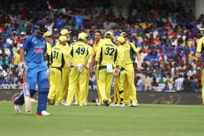 Australia s chase in first ODI delayed by rain
