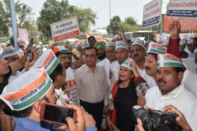 Congress begins signature campaign against fuel price rise