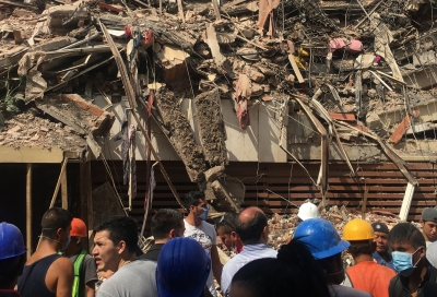 105 killed as powerful 7.1 magnitude quake rattles Mexico (Second Lead)