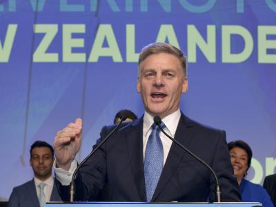New Zealand opposition leader resigns, quits politics