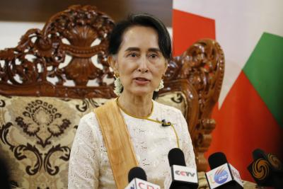 Suu Kyi calls for speedy rehabilitation measures in Rakhine