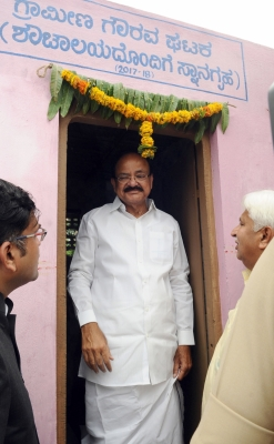 Government committed to making India clean by 2019: Naidu