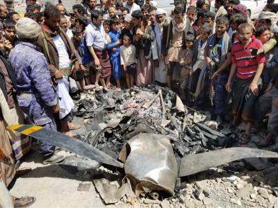 Yemen's Houthi Rebels Claim Shooting US Drone