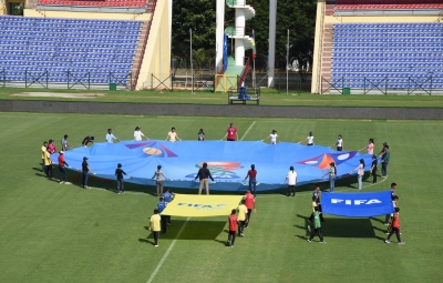 Security beefed up in Guwahati ahead of FIFA U-17, T-20 matches