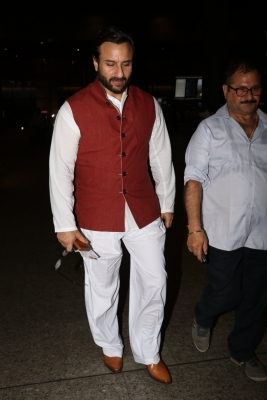I m under pressure to have an airport look: Saif Ali Khan