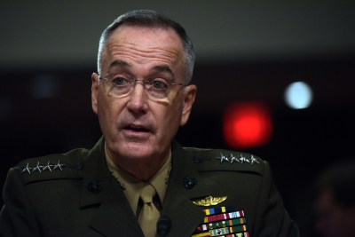 US military chief reaffirms support to Afghan-led peace process