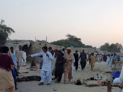 12 dead in suicide blast at Balochistan shrine