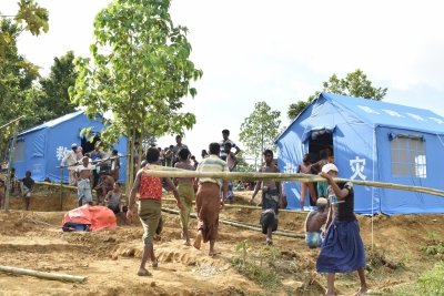 Myanmar army calls Rohingya 'terrorists' 'Bengali', accuses them of torching houses
