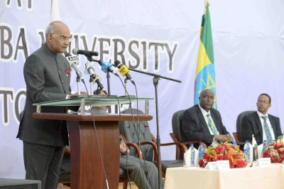 Education fulcrum of our engagement with Ethiopia: Kovind