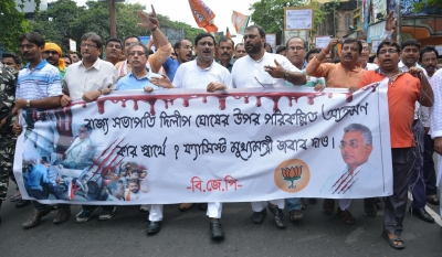 Trinamool to protest BJP s attempt to dishonour Mamata s picture