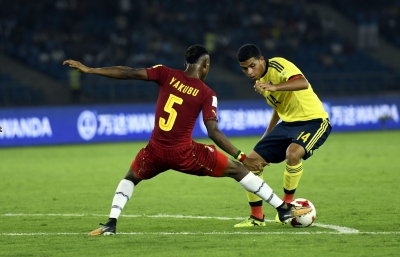U-17 World Cup: Ghana beat Colombia in Group A opener (Lead)
