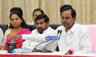 Simultaneous polls may not be possible, says KCR (Lead)