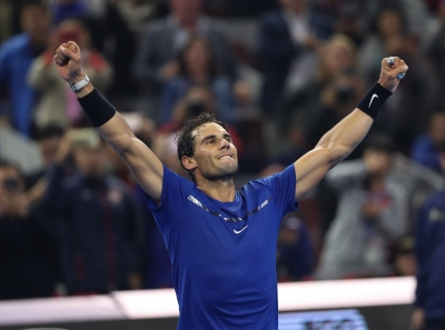 Nadal beats Dimitrov to make China Open final