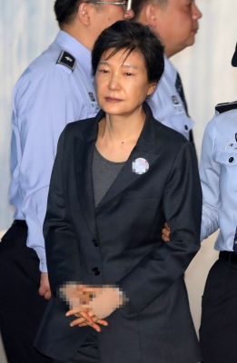 S. Korean ex-President Park sentenced to 8 more years in jail