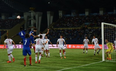 U-17 World Cup: Spain beat France to enter quarters (Lead)