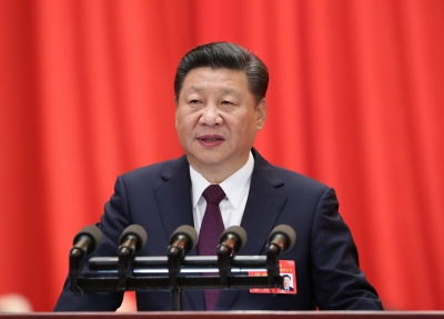 China for peaceful end to disputes, will have world-class military: Xi (Second Lead)
